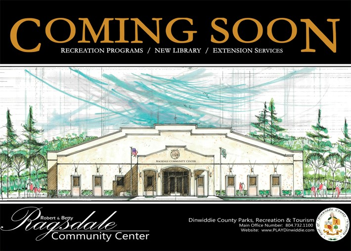 McKenney Recreation center Coming Soon with rendering