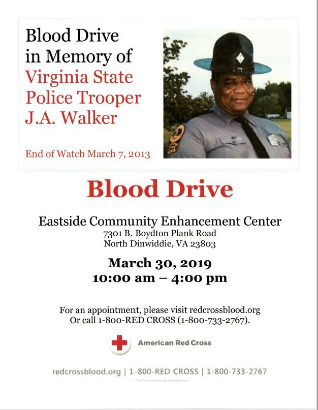 Walker Blood Drive 2019