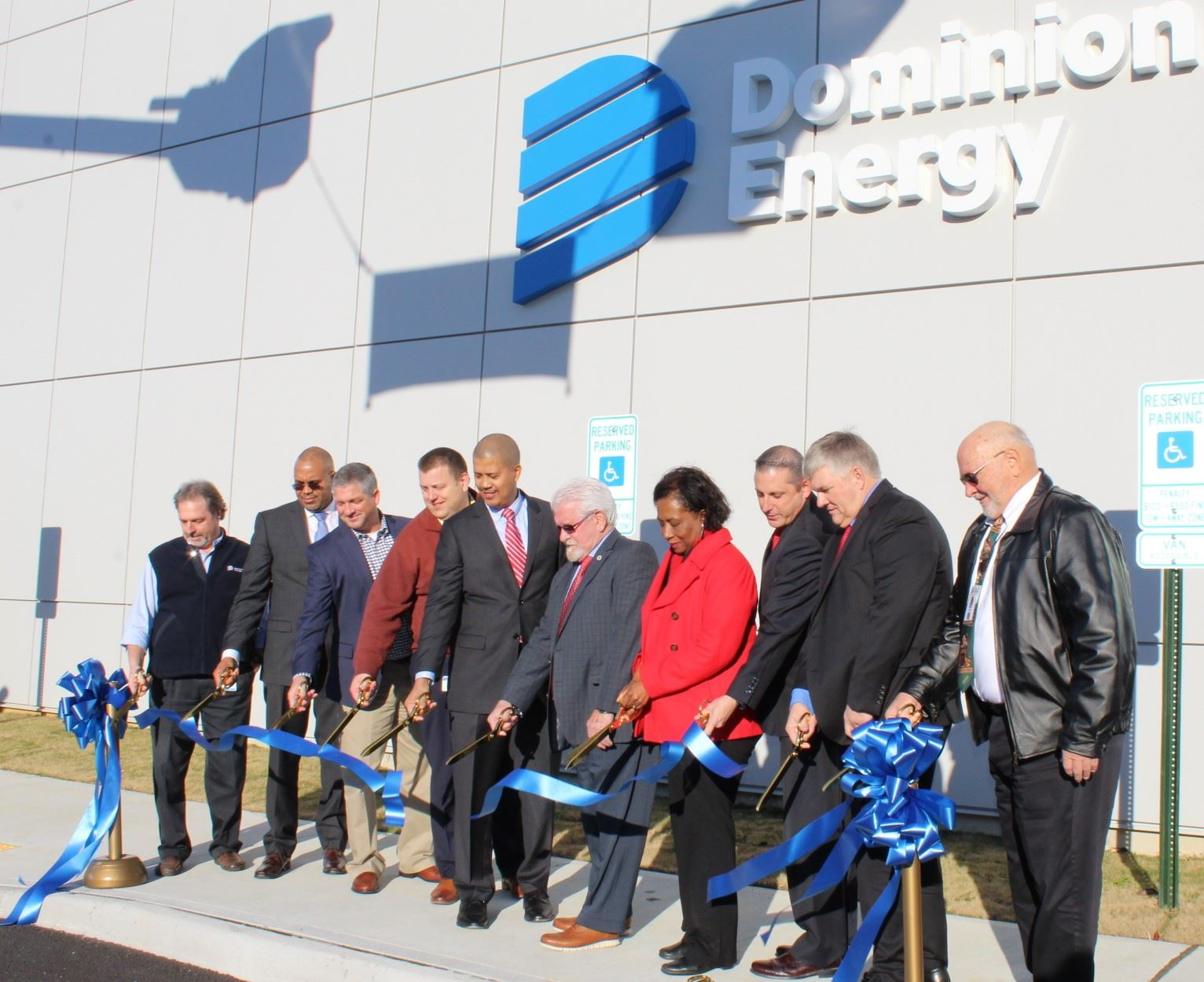 Dominion Energy Ribbon Cutting 12.19.19