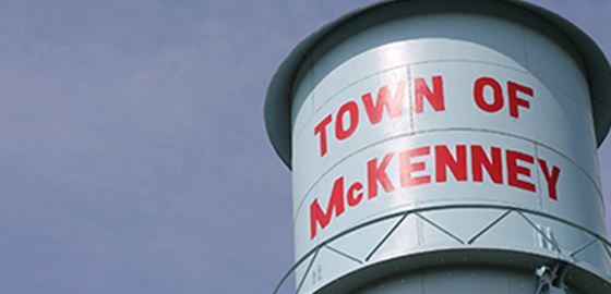 Town of McKenney Water Tower