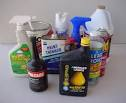 Image of household cleaners and chemicals