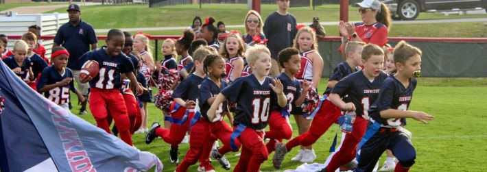 Flag Football & Cheerleading