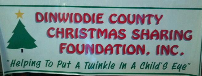 Christmas Sharing Foundation banner