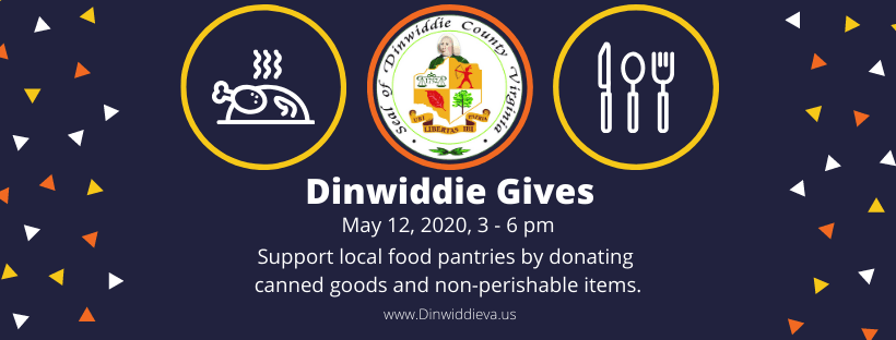Dinwiddie Gives - banner